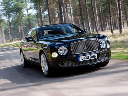 Bentley Mulsanne получит удлиненный кузов и дизельный двигатель