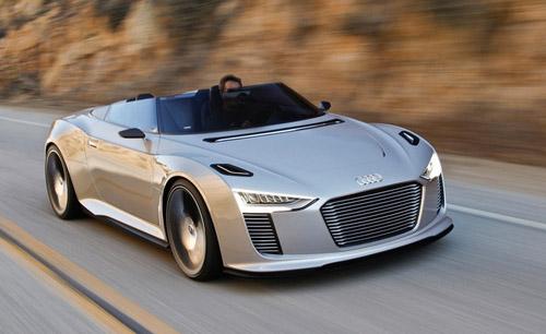 Audi представила гибридный родстер e-Tron Spyder