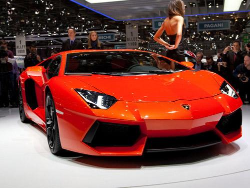 Женеве покажут открытый Lamborghini Aventador