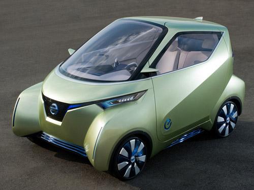 Nissan показал усовершенствованный электроконцепт Pivo