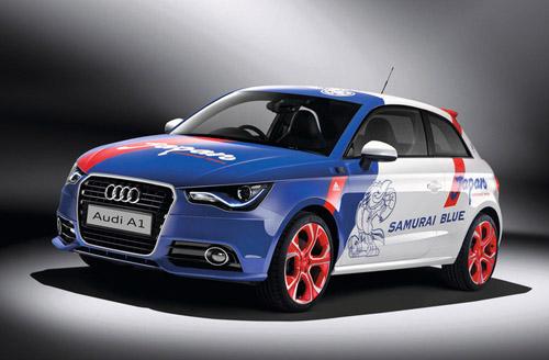 На Токийском автосалоне Audi показала особую версию A1