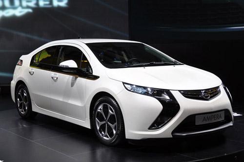 Отложено начало продаж гибрида Opel Ampera