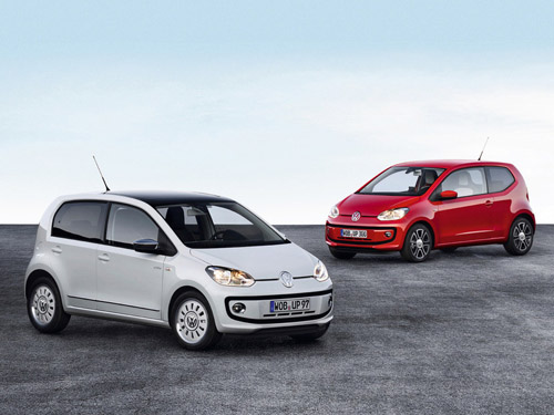 Volkswagen рассекретил свой пятидверный хэтчбек Up!