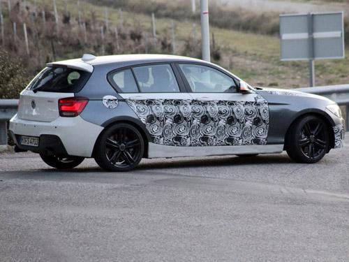 Линейку BMW М Performance пополнит пятидверный хэтчбек 1 Series