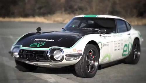 Легендарную Toyota 2000GT превратили в электрический спорткар