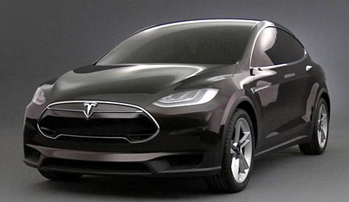 Представлен полноприводный универсал Tesla Model X