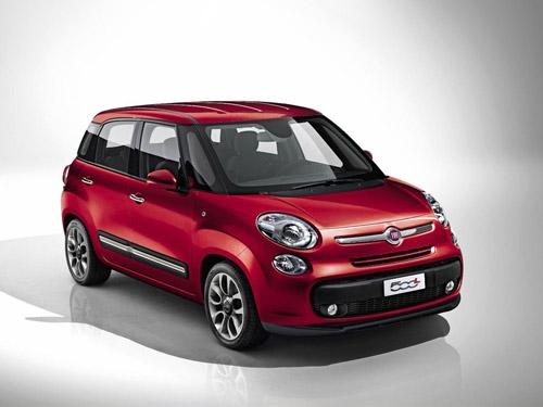 Официально представлен компактвэн Fiat 500L