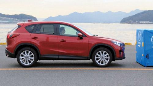 В Mazda CX-5 установят систему «умного» торможения