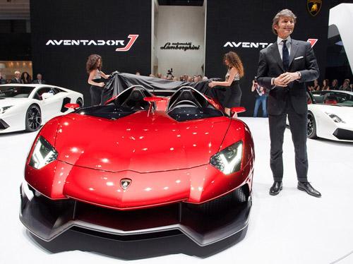 Lamborghini Aventador J был создан всего за шесть недель