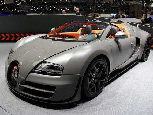 Bugatti представил скоростной родстер Veyron Grand Sport Vitesse