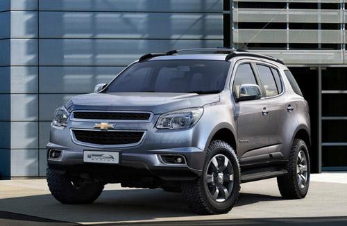 В июне в продаже появится новый Chevrolet Trailblazer