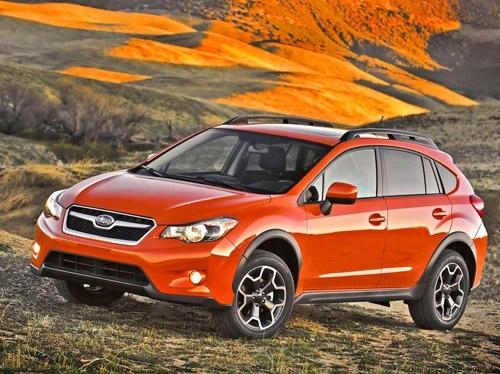 Subaru покажет компактный кроссовер XV Crosstrek