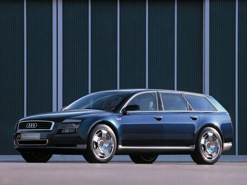 Audi разрабатывает собственный вариант минивэна