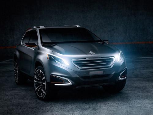 Peugeot показал в Пекине концепт нового кроссовера
