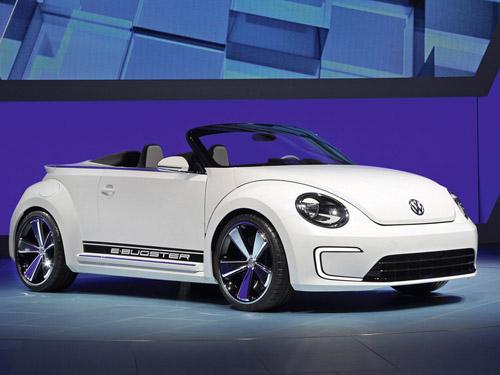 Volkswagen показал электрического «Жука» с открытым верхом
