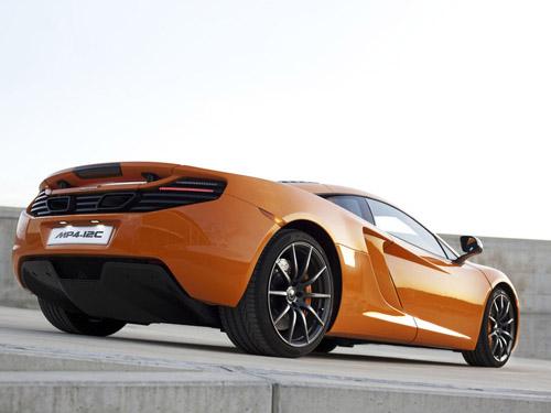 В конце этого года появится McLaren MP4-12C Spider