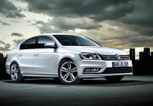 Volkswagen анонсировал седан Passat R-Line