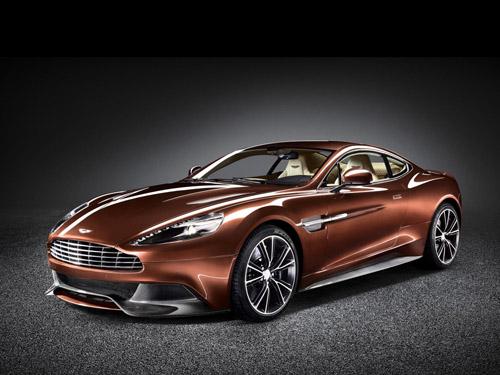 Aston Martin официально представила купе Vanquish