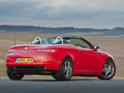 В 2015 году выйдет новый родстер Alfa Romeo Spider