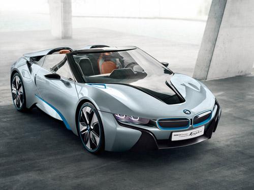 На Московском автосалоне BMW покажет концепт i8 Spyder