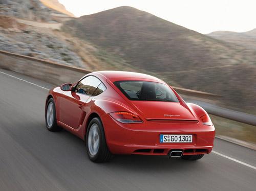 В Лос-Анджелесе будет показан новый Porsche Caymana