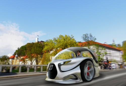 2Wheela: концепт автомобиля с самостоятельными половинками