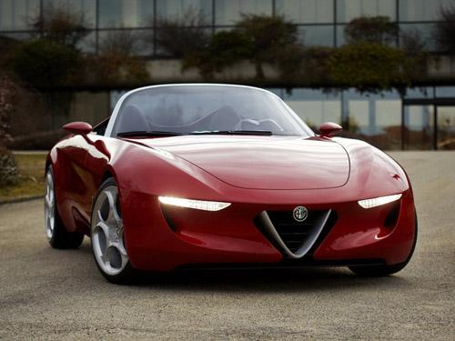 Родстер Alfa Romeo получит уникальный дизайн