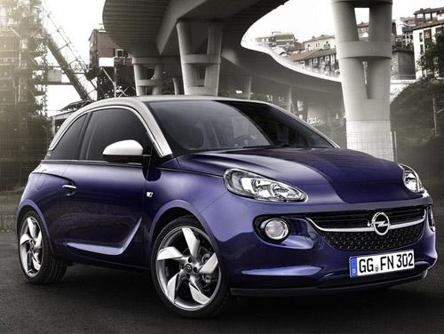 Во втором квартале следующего года в России появится Opel Adam
