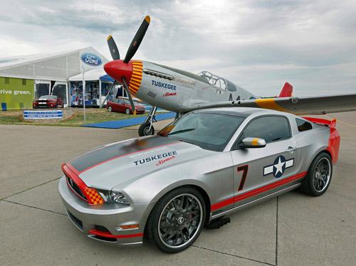 Ford посвятил уникальный Mustang военным летчикам