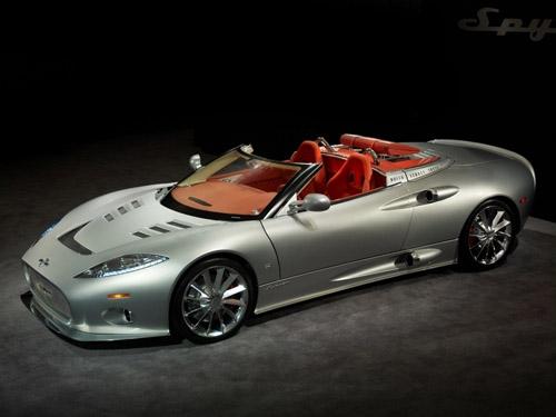 Spyker ищет поставщика 500-сильныого мотора для С8 Aileron