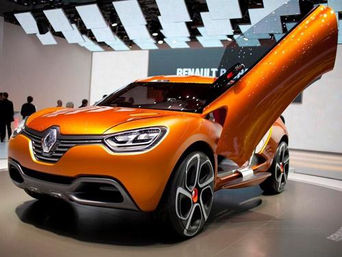 Renault покажет в Москве прототип нового кроссовера