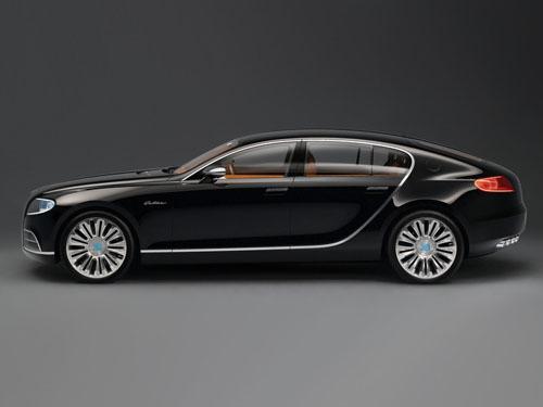 Bugatti Galibier получит очень мощный мотор
