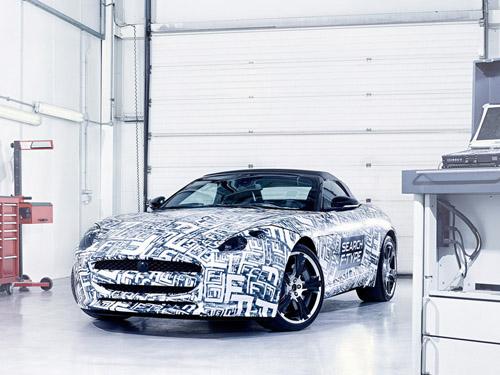 В Париже состоится премьера серийного Jaguar F-Type