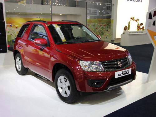 Suzuki привез в Москву обновленную Grand Vitara