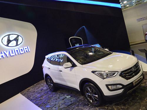 В Москве прошла европейская премьера Hyundai Santa Fe