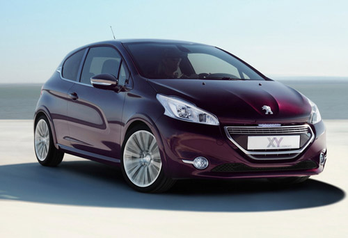 Концепт Peugeot XY Concept поступит на конвейер