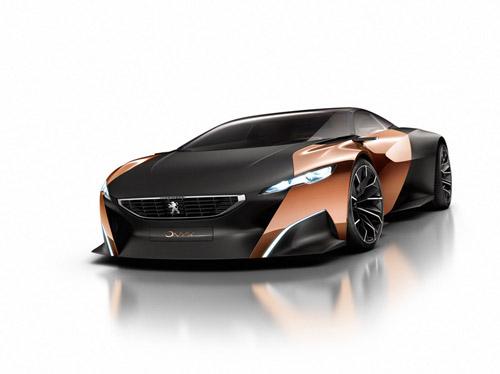 Peugeot покажет в Париже карбоновый 600-сильный Onyx