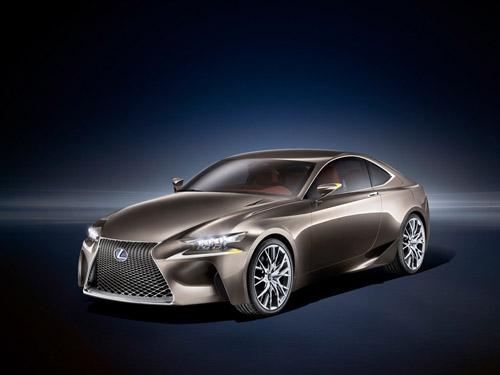 Lexus привезет в Париж новейший концепт LF-CC