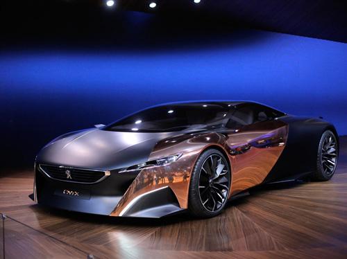 Peugeot показала в Париже очень красивый суперкар