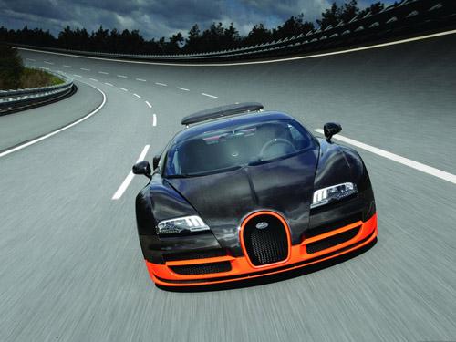 Bugatti готовит к выпуску 1600-сильный Veyron