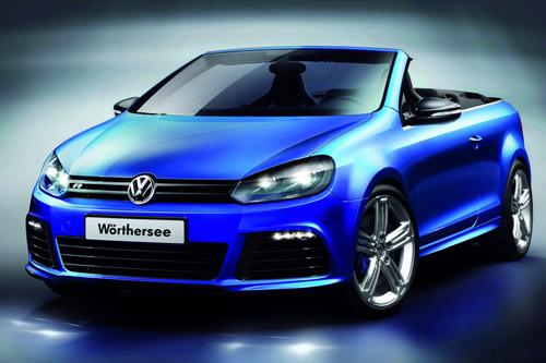 Volkswagen представил кабриолет Golf R