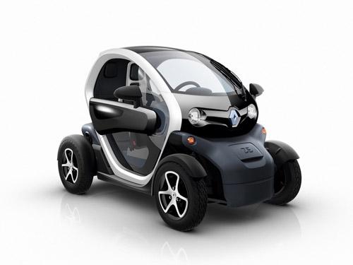 Электрокар Renault Twizy станет прародителем экологически чистого семейства