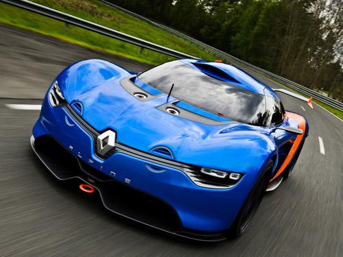 Renault готовит к выпуску новый спорткар