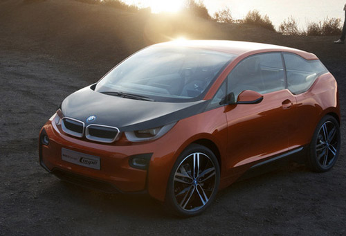 Представлен новый электрический прототип BMW i3 Concept Coupe