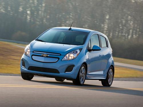 Электрический Chevrolet Spark получился динамичнее бензинового собрата