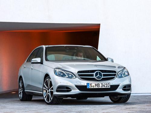 Весной 2013 года в продаже появится обновлённый Mercedes E-class