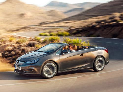 Стоимость кабриолета Opel Cascada составит от 25 945 евро