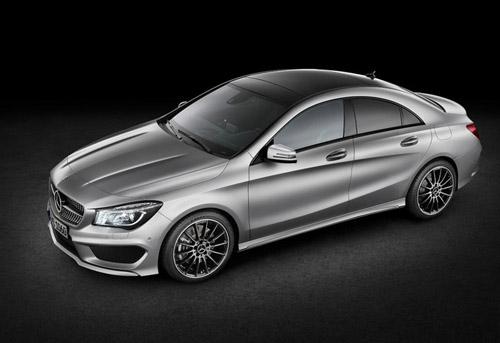 В Нью-Йорке покажут маленький, но мощный Mercedes