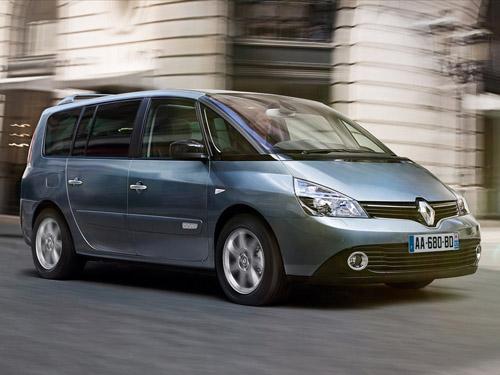 Кроссовер Renault Espace способен заменить седан и минивэн