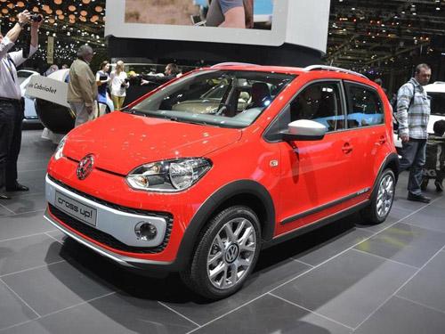 Volkswagen привёз в Женеву внедорожную модификацию Up!
